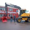 Påbyggnad av maskin för Sten & Vägarbeten
