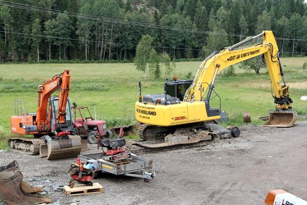 Rototilt för grävmaskin